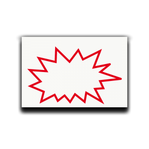 Symbol Kaizen Blitz als Haftnotizblock zur Prozessanalyse Process Analysis Icon Kaizen Burst